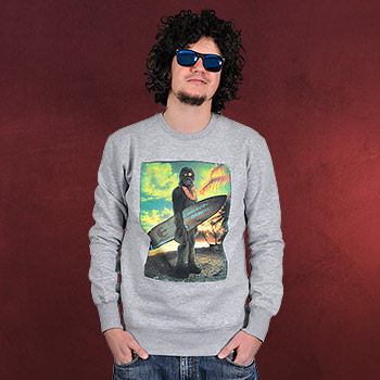 Star Wars - Wookie Surfer Sweater grau