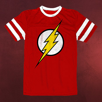 Flash - Logo Sport-Style T-Shirt rot