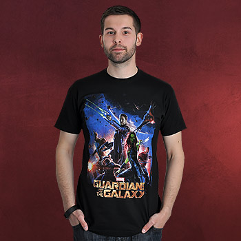 Guardians of the Galaxy - Collage T-Shirt schwarz