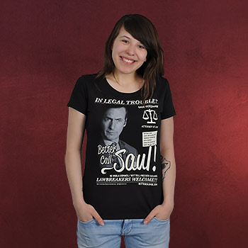 Better Call Saul - Saul Goodman Girlie Shirt schwarz