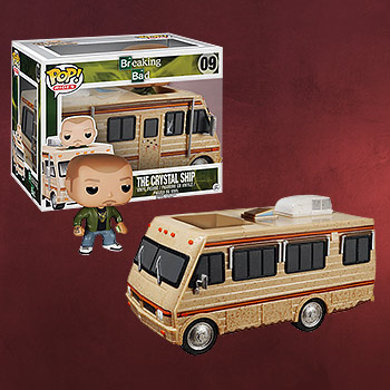 Breaking Bad - Chrystal Ship und Jesse Pinkman Figur