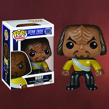 Star Trek - Worf Mini-Figur