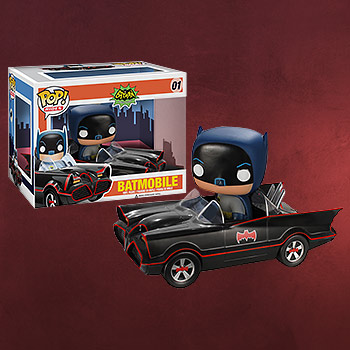Batmobile mit Batman Mini-Figur