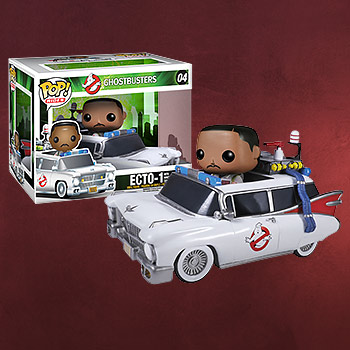 Ghostbusters - Ecto-1 mit Winston Zeddemore Mini-Figur