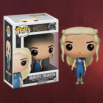 Game of Thrones - Daenerys Targaryen im blauen Kleid Mini-Figur
