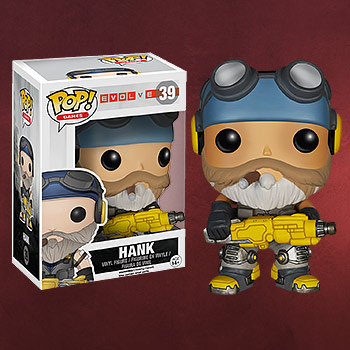 Evolve - Hank Mini-Figur