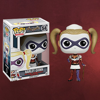 Batman Arkham Asylum - Harley Quinn Mini-Figur