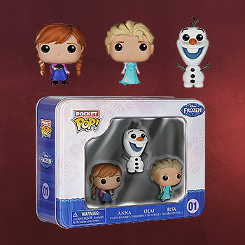 Frozen - Mini-Figuren Set