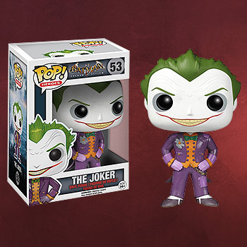 Batman Arkham Asylum - The Joker Mini-Figur