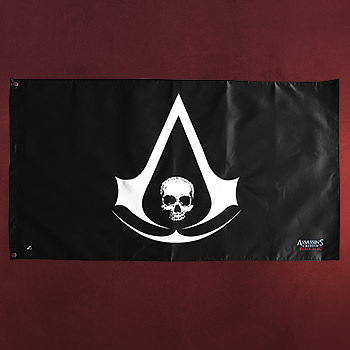 Assassins Creed - Black Flag Flagge