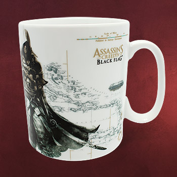 Assassins Creed - Black Flag History Tasse