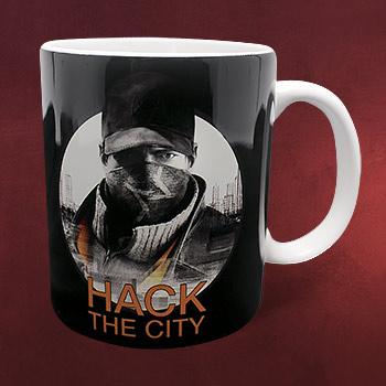 Watch Dogs - Hack the City Tasse