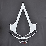Assassins Creed - Logo T-Shirt grau