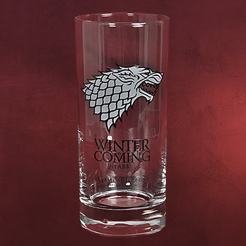 Game of Thrones - House Stark Glas
