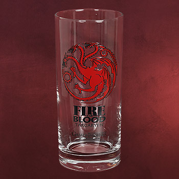 Game of Thrones - House Targaryen Glas