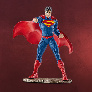 Superman - Comic Figur k�mpfend
