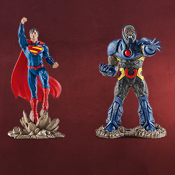 Superman vs. Darkseid Comic Figurenset