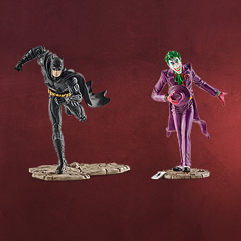 Batman vs. Joker Comic Figurenset