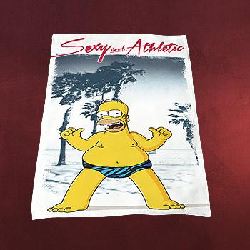 Simpsons - Homer Strandtuch