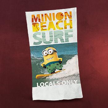 Ich - Einfach unverbesserlich - Minions Beach Surf Strandtuch