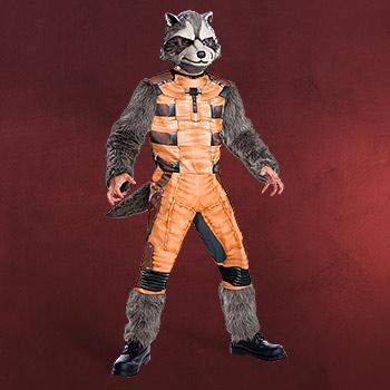 Guardians of the Galaxy - Rocket Raccoon Kinder Kostüm