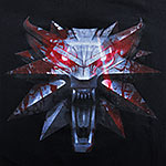 Witcher - Wolf Medallion T-Shirt schwarz