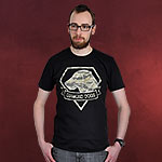 Metal Gear Solid - Diamond Dogs T-Shirt schwarz