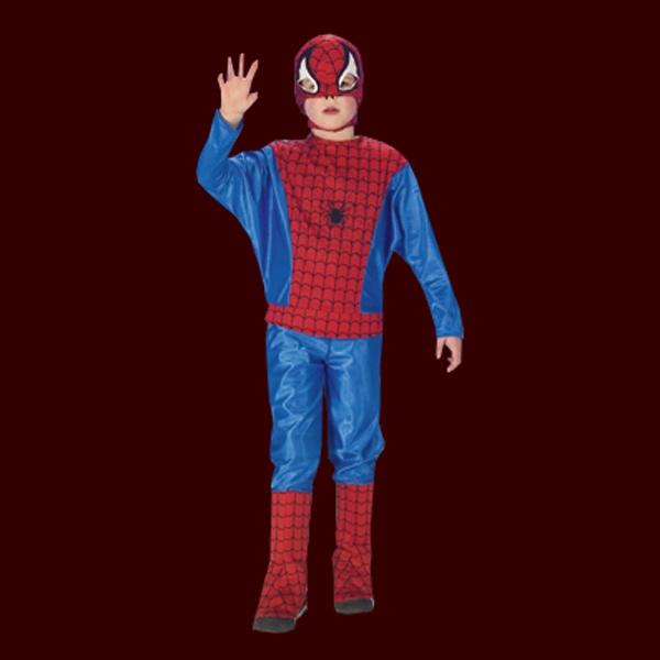 fasching kinder kost m spider man 3teilig rot blau hose. Black Bedroom Furniture Sets. Home Design Ideas