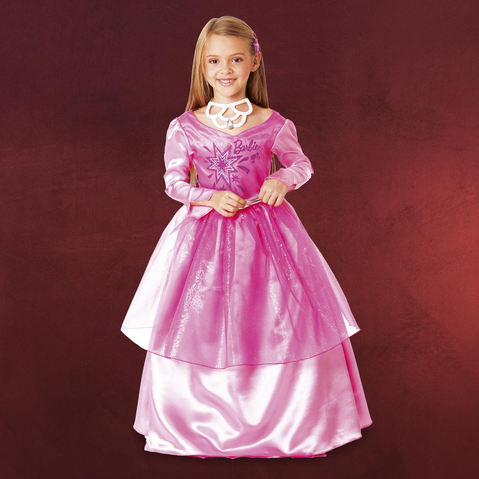 fasching kost m kinder barbie prinzessin kleid schmuck ebay. Black Bedroom Furniture Sets. Home Design Ideas