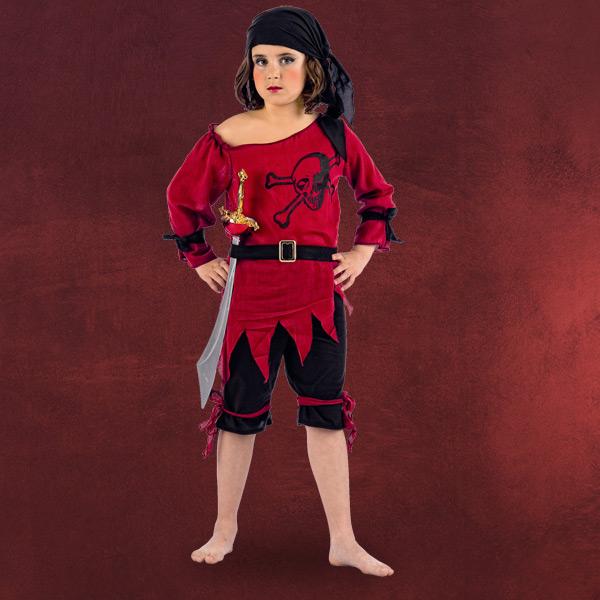 kinder piraten seemann kost m m dchen mit kniehose kopftuch u g rtel ebay. Black Bedroom Furniture Sets. Home Design Ideas