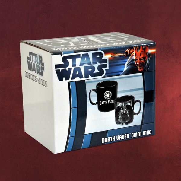 star wars darth vader xxl tasse 750ml inhalt in geschenkverpackung keramik. Black Bedroom Furniture Sets. Home Design Ideas