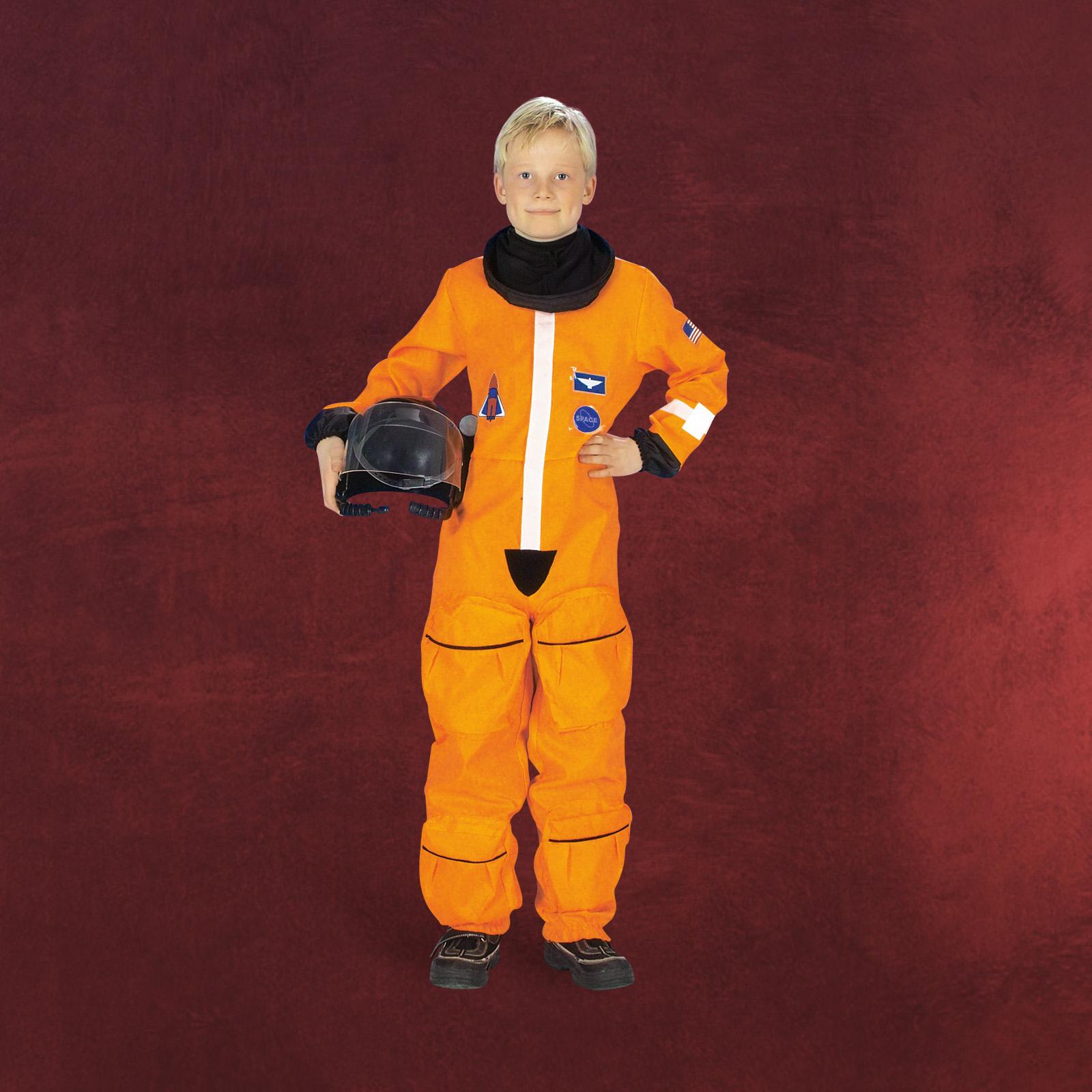 kost m astronaut kinder apollo 13 weltraum overall fasching raumfahrt karneval ebay
